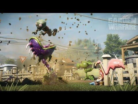 Plants vs Zombies Garden Warfare: (Chomper Happy Montage) Happy Taxon Remix