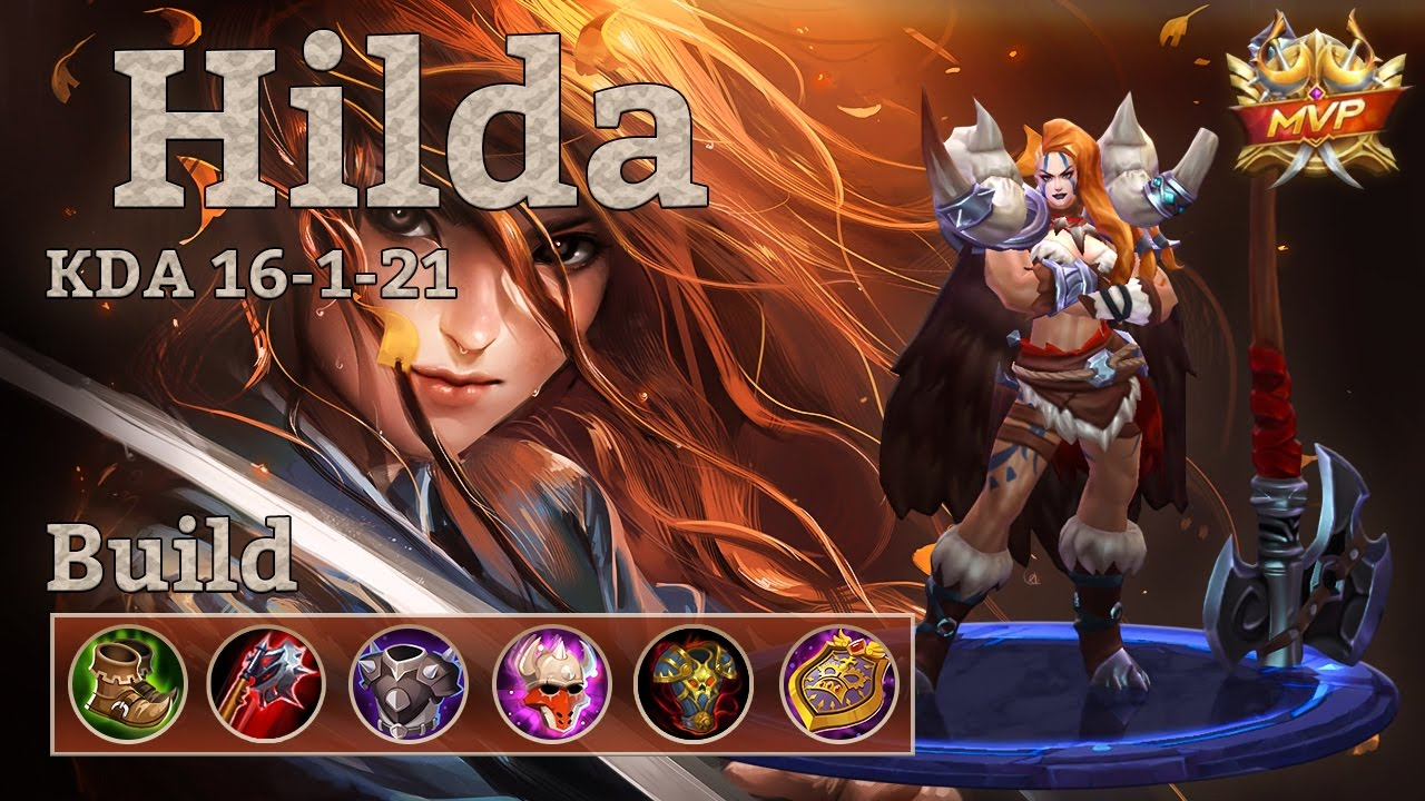 Mobile Legends Hilda Mvp Insane Game And Best Build