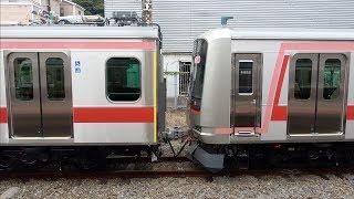 【圧巻の11両編成】東急5050系5178F(8両)+中間車3両 甲種輸送
