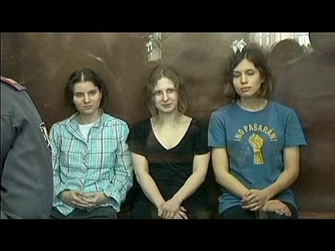 Jailed Pussy Riot member starts hunger strike against Russia prison