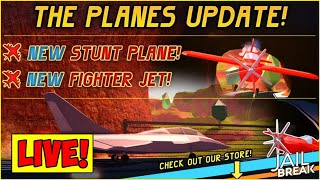 🔴ROBLOX JAILBREAK LIVE!| NEW FIGHTER JETS+NEW PLANES| ROBLOX LIVE
