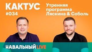 Кактус #034. Блогеры опознали напавших на Навального. Гость — Митя Алешковский, фонд «Нужна помощь»
