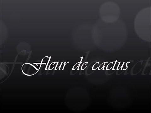 pièce : fleur de cactus - youtube
