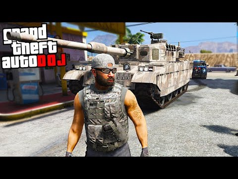 GTA 5 Roleplay - DOJ 72 - Special Forces Tank