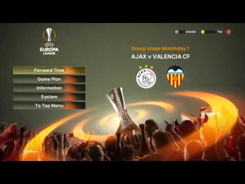 UEFA Europa League | In-Game Mode Music #2 | PES 2016