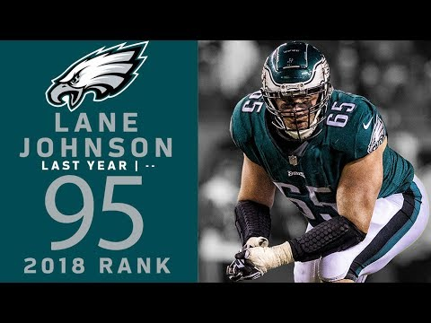 #95 Lane Johnson (OT, Eagles) | Top 100 Players of 2018 | NFL