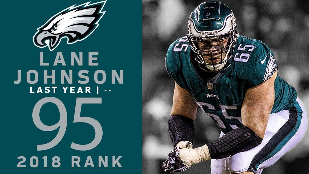 new concept bab9e 74d6e #95 Lane Johnson (OT, Eagles)   Top 100 Players of 2018   NFL