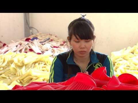 Găng tay cao su Nam Long - Hướng Dương