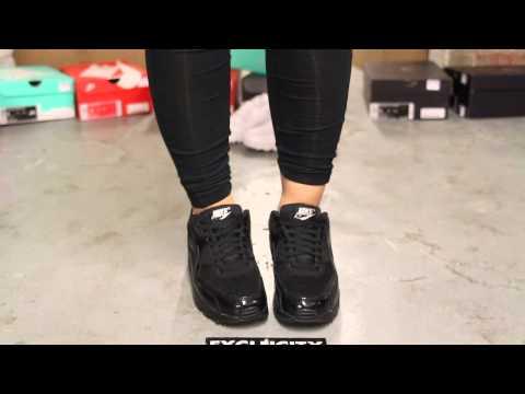 Nike Air Max Premium Black Metallic Silver On