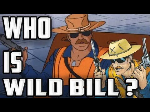 History And Origin Of GI Joe's WILD BILL!