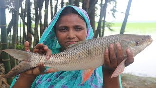 Village Food Rui Macher Jhol Recipe Delicious Spicy Cooking ALIVE Rui Fish Jhal Curry Bengali Style