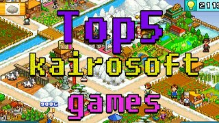 Top 5 Kairosoft Games (part1)