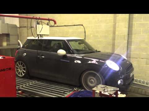 bmw mini f56 cooper s on the dyno youtube. Black Bedroom Furniture Sets. Home Design Ideas