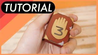 DIY: Gravity Falls - Como hacer el mini diario 3 de Gravity falls