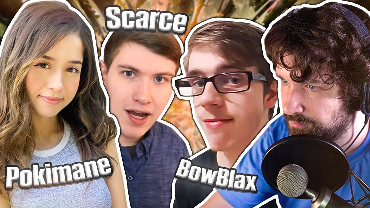 The TRUTH About Pokimane's Boyfriend - Reacting to Scarce Video / Chatting with Bowblax