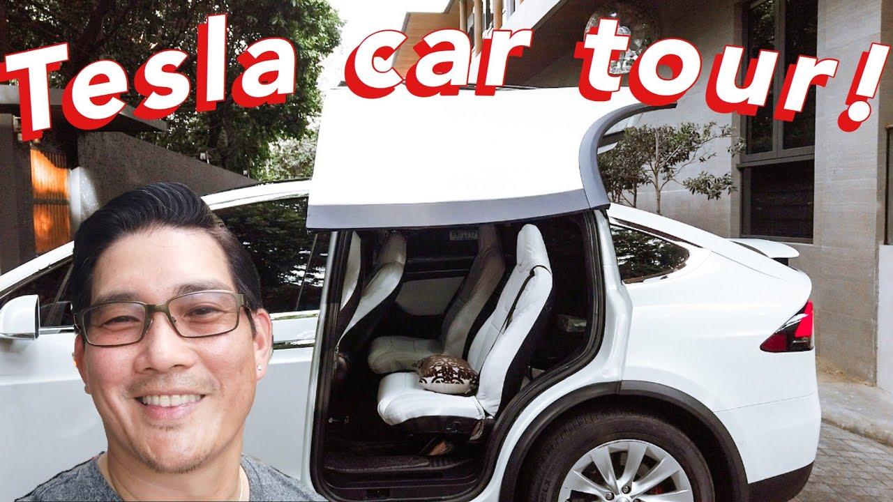 TESLA CAR TOUR! | RICHARD YAP