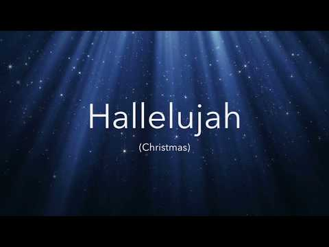 A Christmas Version of Leonard Cohen's Hallelujah (Lyrics Video)