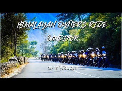 Himalayan Owners Ride Kathmandu to Bandipur 15-16th Dec 2017