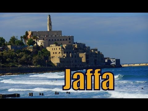 Tour around Jaffa in Tel Aviv, Israel visiting the beach promenade and flea market יָפוֹ‎‎   يَافَا‎