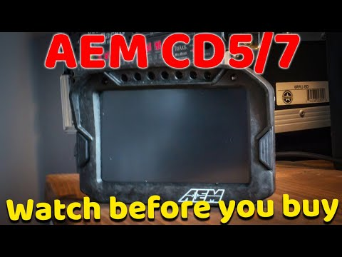 Should You Buy A DIGITAL DASH? | Final Thoughts | AEM CD5 CD7