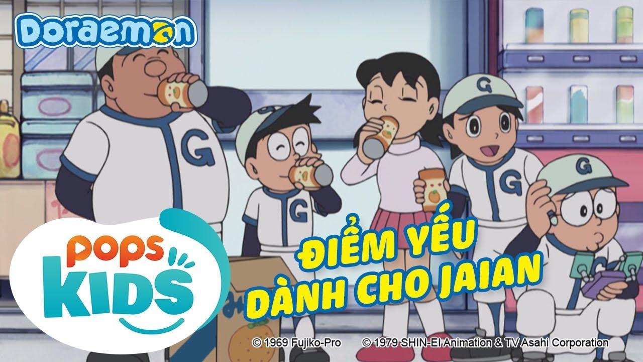 [S7] Doraemon Tập 357 – Những Điểm Yếu Dành Cho Jaian, Bảo Bối Tạo Ra Điểm Yếu Nỗi Sợ Của Dekisugi