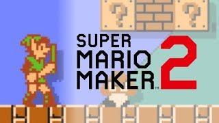 Link in Super Mario Maker 2!