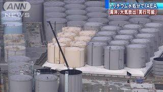 福島第一原発の汚染水処分方法「実行可能」IAEA評価(20/04/03)