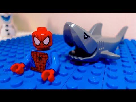Lego Spider Man Shark Attack