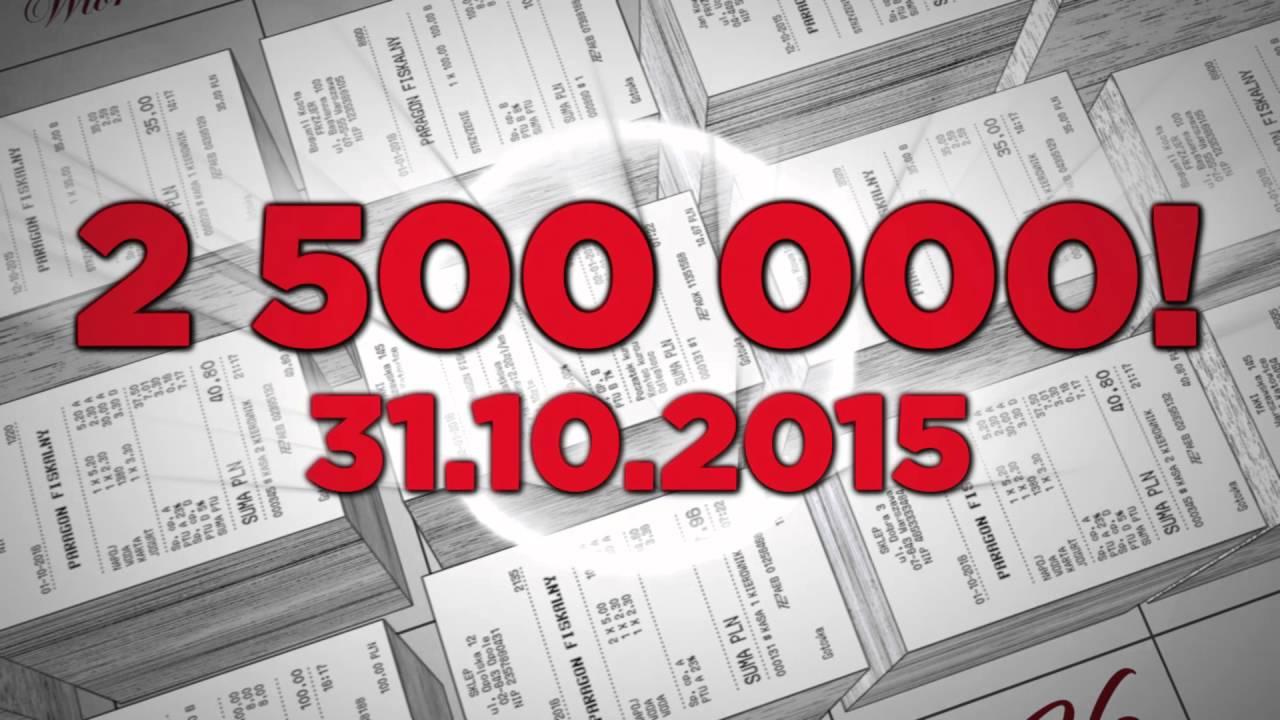 Narodowa Loteria Paragonowa - półmetek kampanii