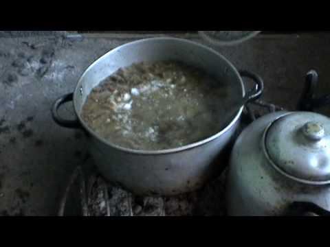 Receta de Porotos con Cochayuyo [etnomedia]