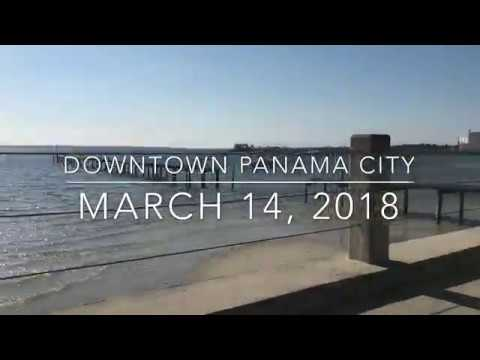 Longboard Journey Around Downtown Panama City, FL