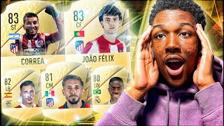 I Used a FIFA 22 Starter Team In FUT CHAMPS! (i may or may not get angry)