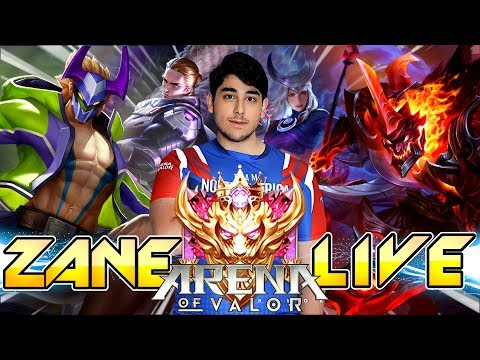 🔴 ROAD TO 300 STARS   TRYHARD   Arena Of Valor   BMGxZane