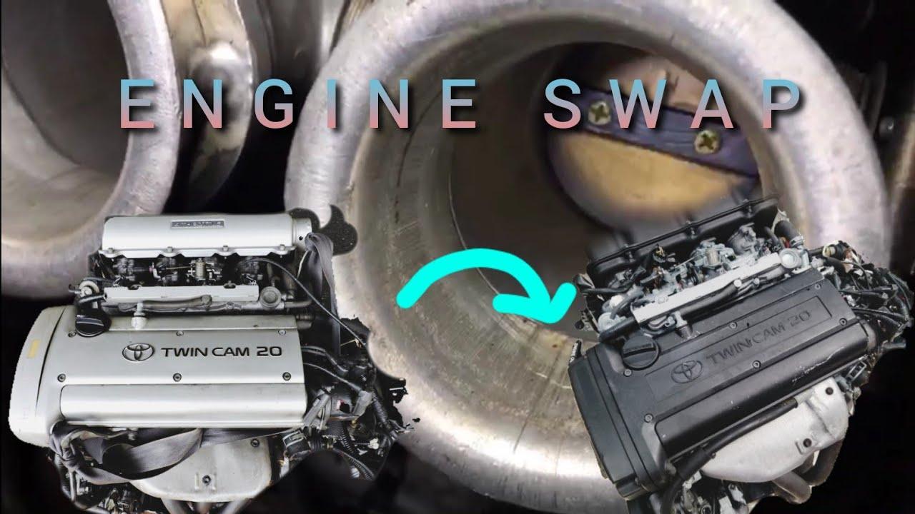 Download 4AGE Silvertop 20V swap to 4AGE Blacktop 20V