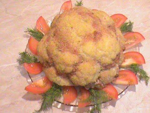 цветной фото духовке капусты в рецепты