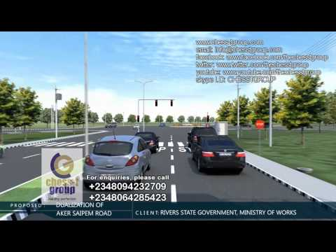AKER SAIPEM ROAD ANIMATION   WITH TEMPLATE