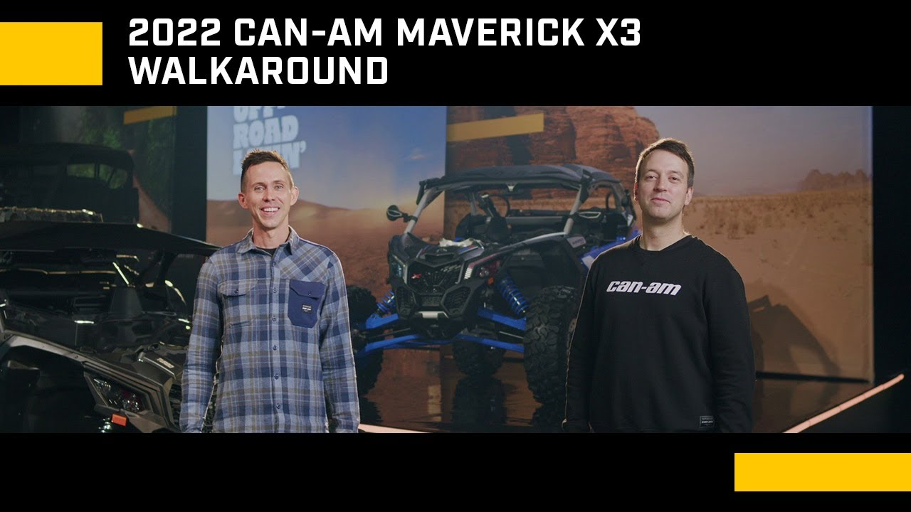Download 2022 Maverick X3 Walkaround | Can-Am Off-Road