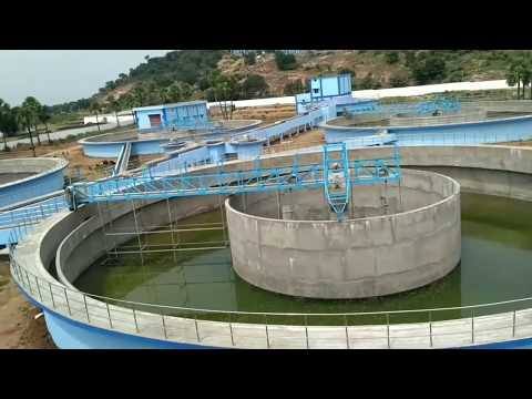 Mission Bhagiratha@telangana/water treatment plant visit.