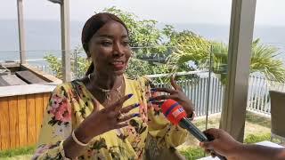 COUMBA GAWLO EN INTERVIEW EN GUINÉE CONACRY
