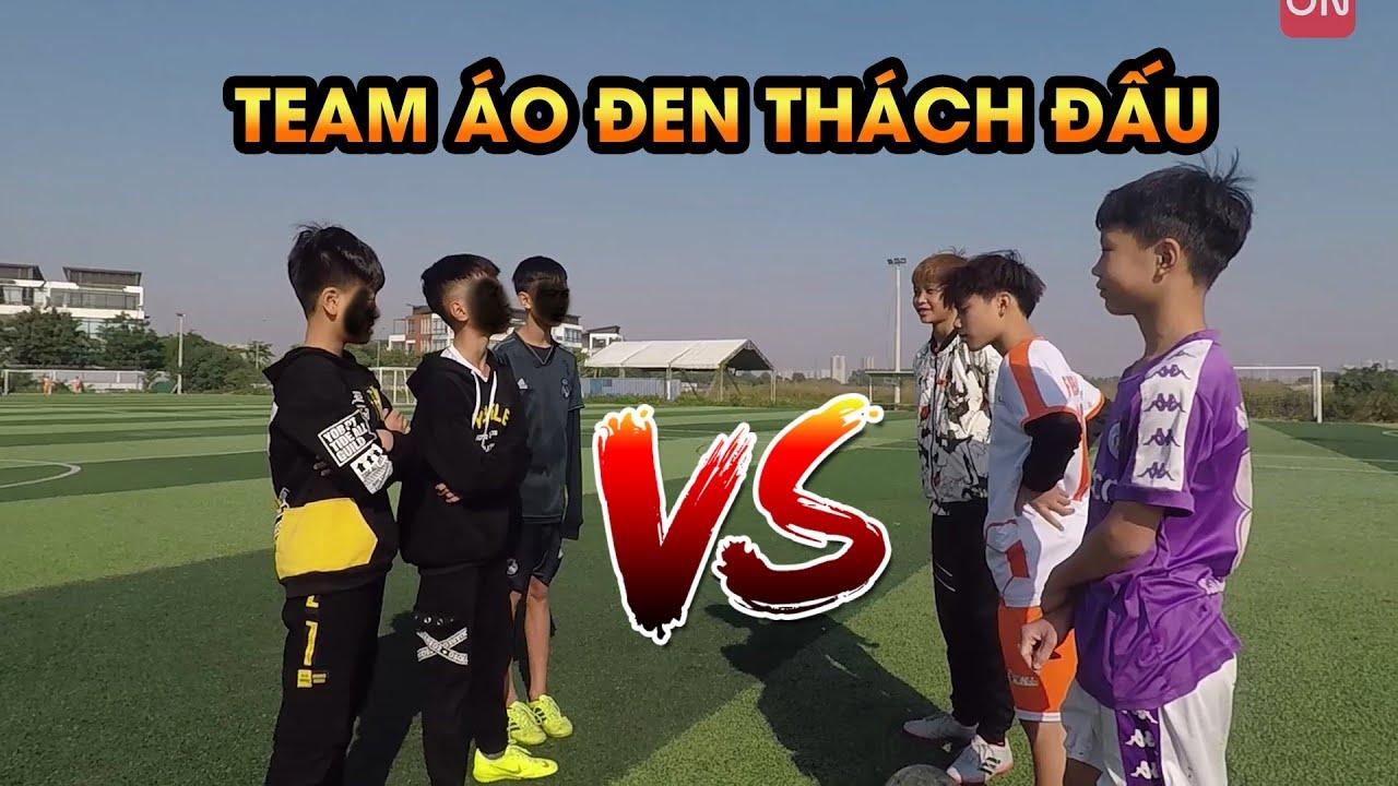 Đội áo đen cầm đầu gà tới thách thức đội Duy Trung | Thử thách bóng đá