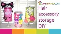 2ca1960e6 73 ♥ Hair Accessory Holder DIY - Girls Love Your Curls - Duration: 3  minutes, 4 seconds.