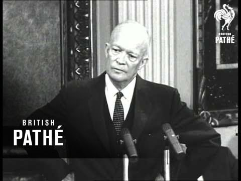 Eisenhower Angered By Golf Query (1957)