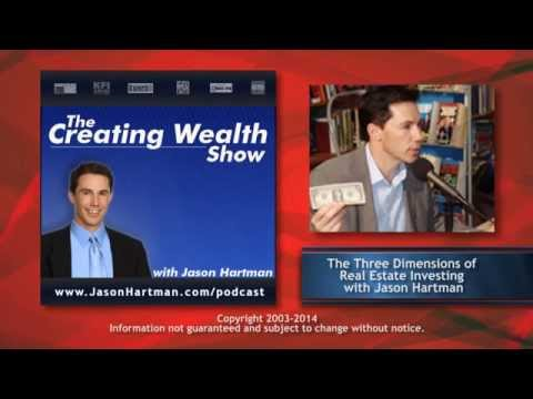 Creating Wealth #24 - The Three Dimensions of Real Estate Investing with Jason Hartman