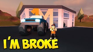 BUYING THE NEW $1,000,000 MONSTER TRUCK IN JAILBREAK ROBLOX