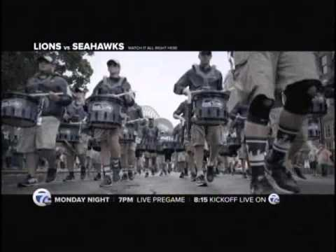 WXYZ Lions Vs Seahawks Monday Night Football On 7 Promo 9/30/15 30S