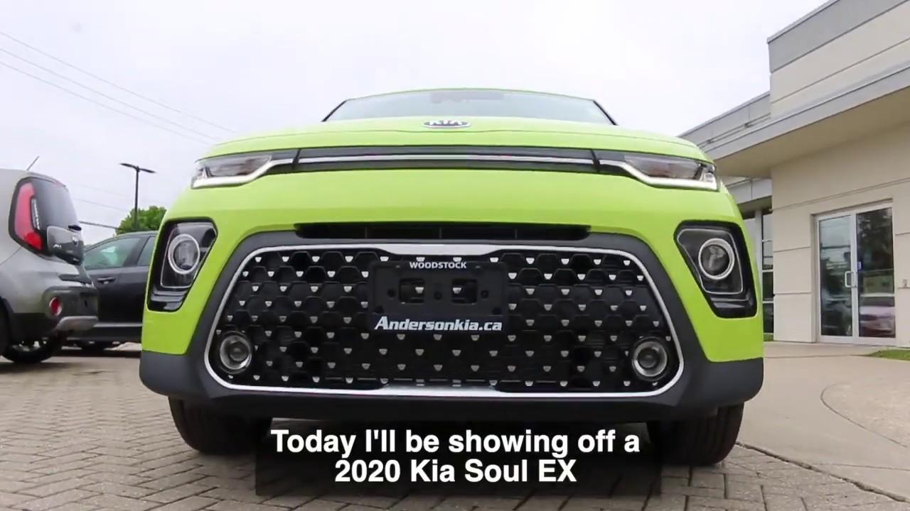 2020 Kia Soul Ex Space Green Walkaround