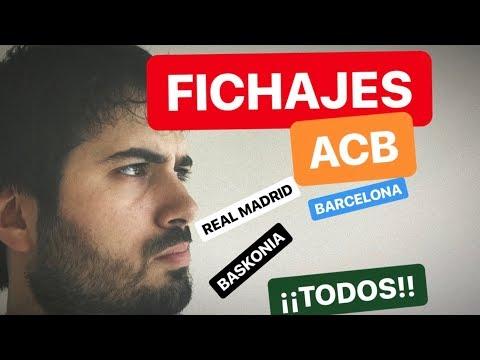 FICHAJES ACB: PLANTILLAS del TODOS LOS EQUIPOS. ¿VOLVERÁ A GANAR EL REAL MADRID? from YouTube · Duration:  21 minutes 21 seconds