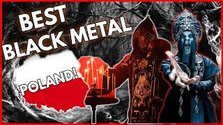The BEST Polish BLACK METAL Bands