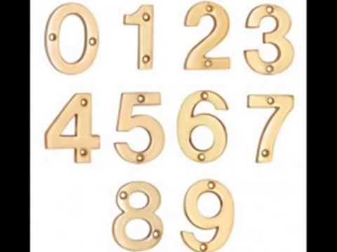 house numbers and letters brass letters and 5 inch house numbers 22136 | hqdefault