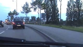 Граница Германии и Франции. Страсбург(Вид из лобового окна машины. Также смотрите на нашем блоге отчет о поездке http://crystdf.blogspot.com., 2012-05-07T10:06:50.000Z)